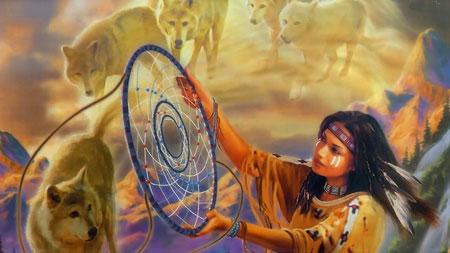 ловец снов индейцев