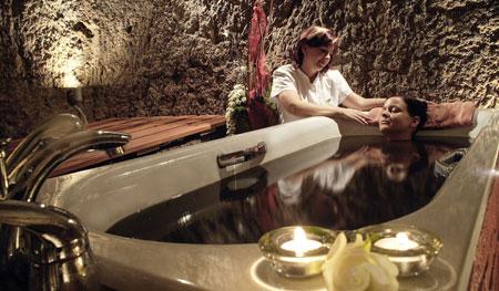 ванна из шунгита