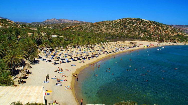 Пальмовый рай - Ваи - Греция