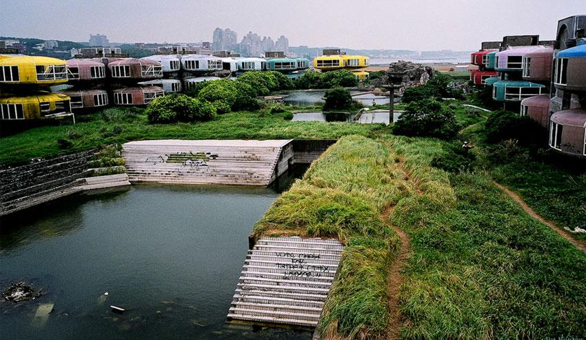Город-призрак Сан Жи на Тайване