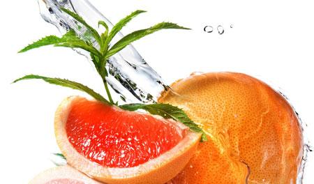Коктейль: грейпфрут, имбирь, ананас