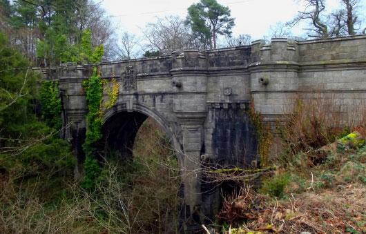 Мост Овертоун в Шотландии