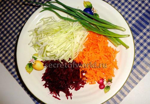 свекла морковь капуста