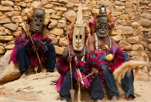 Африканское племя догонов