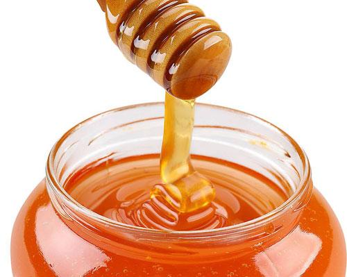 мед стекает