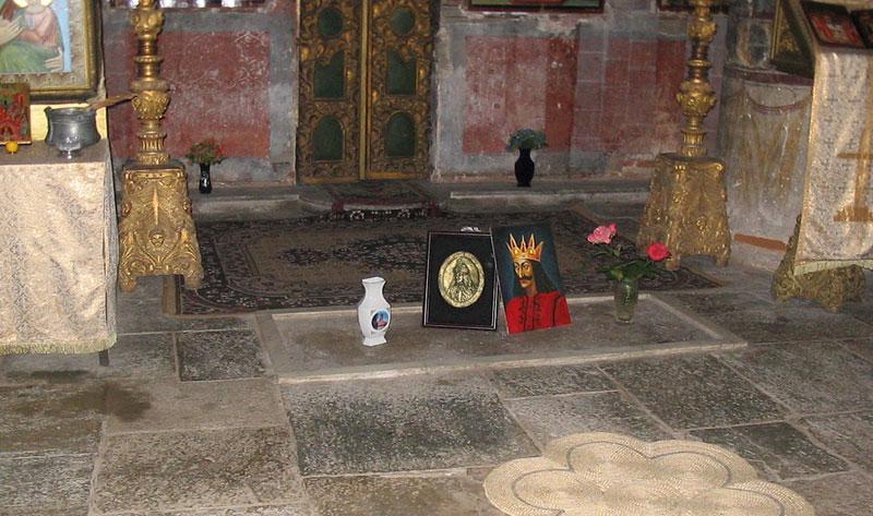 могила графа Дракулы