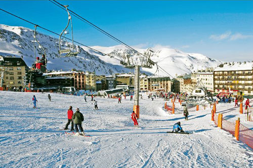 Горные лыжи в Андорре