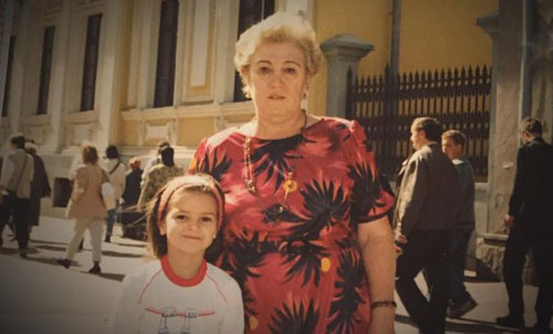 Виктория Райдос и бабушка Зина