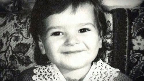 Виктория Райдос в детстве