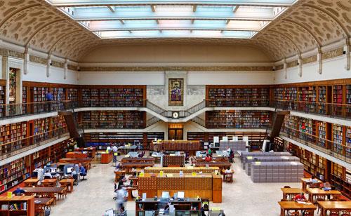 Библиотека в Глазго