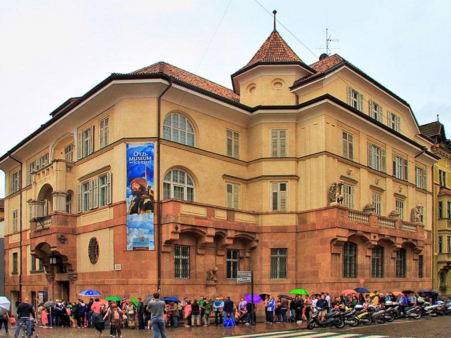 Музей археологии итальянского городка Больцано