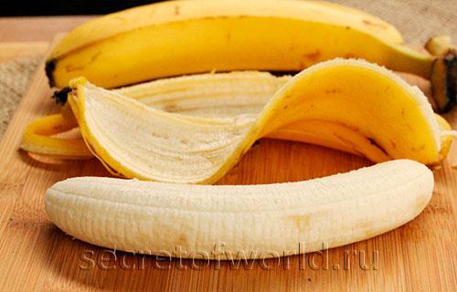 Отчищенные бананы