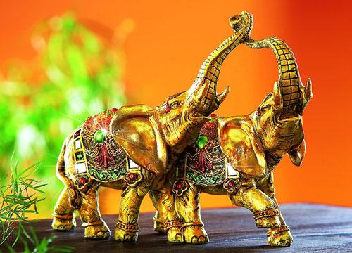 Статуэтка два слона