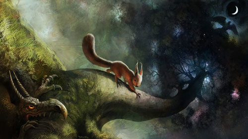 Белка в мифологии