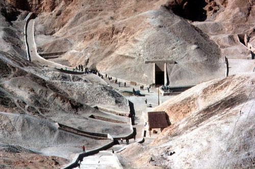 Долина царей. Египет.