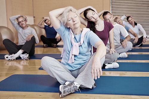 йога пилатес для любого возраста