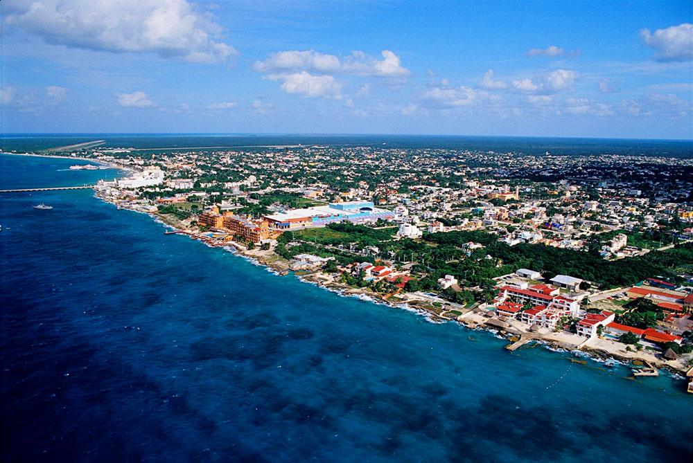 остров в Мексике Консумель