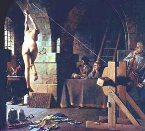 Пытки ведьмы