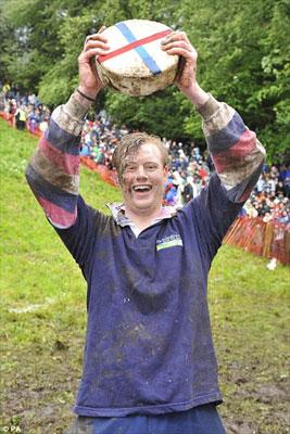 Победитель гонки за сыром
