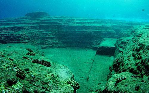 древний город под водой