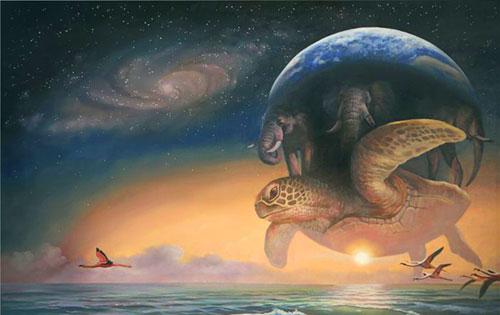 Планета на черепахе
