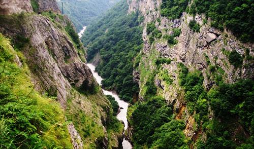 Черекское ущелье. Кабардино-Балкария.