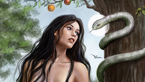 Змея вокруг древа жизни
