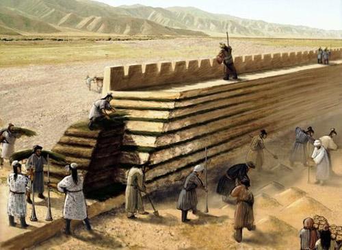 Строение Китайской стены
