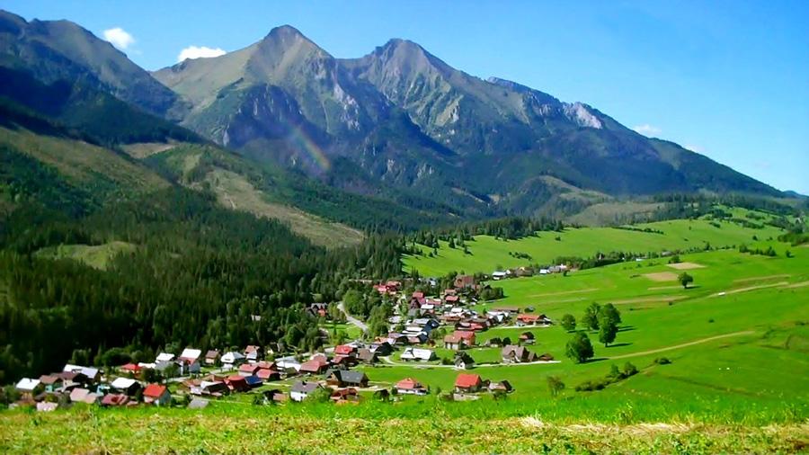 Поселение в Карпатских горах