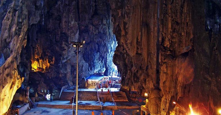 известняковые карсты в пещерах бату