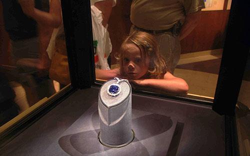 алмаз хоуп в музее