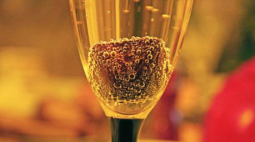 Шоколад в шампанском