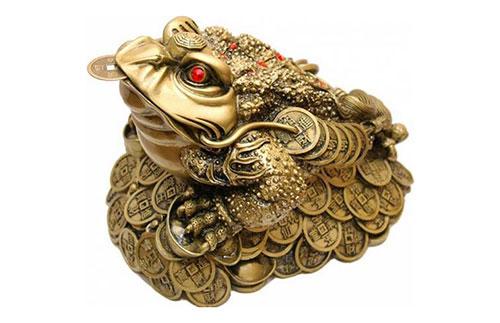 Золотая денежная жаба