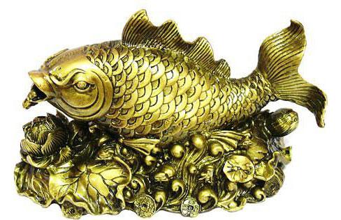 золотая рыбка фен-шуй