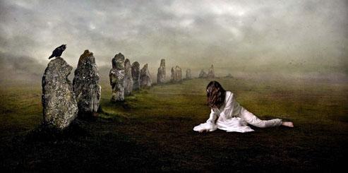 Кладбищенская земля - Особенности обрядов с мертвой землей