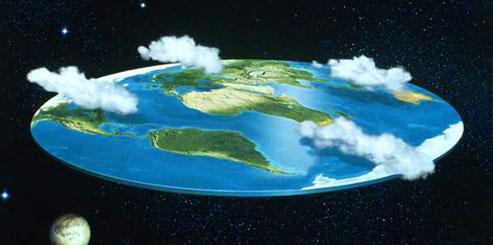 Плоская Земля - Теория плоской земли
