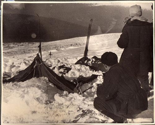 Найденная палатка Дятловцев