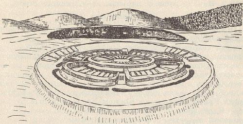 Проект города Аркаим
