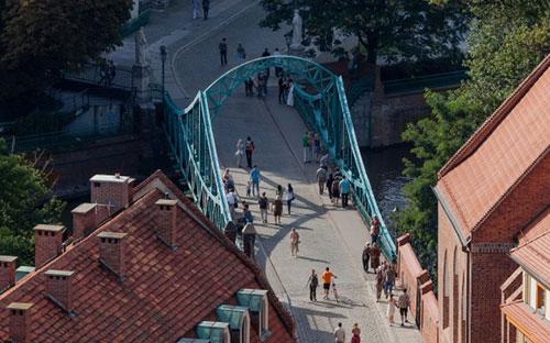 Тумский мост во вроцлаве