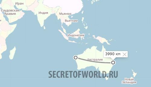 Размер Австралии