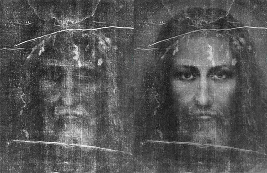 Облик человека Туринской плащаницы