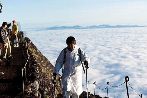 восхождение на гору фудзи