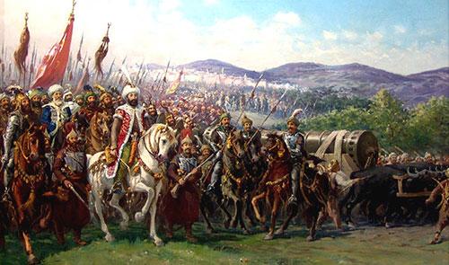 армия Мехмеда 2