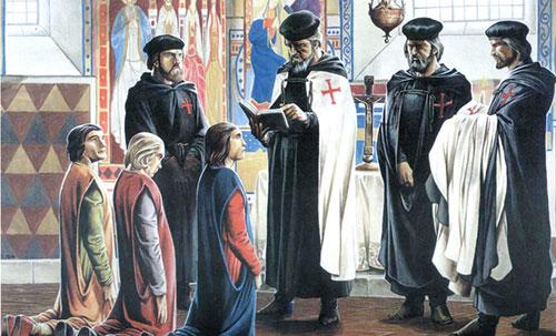 тамплиеры священнослужители