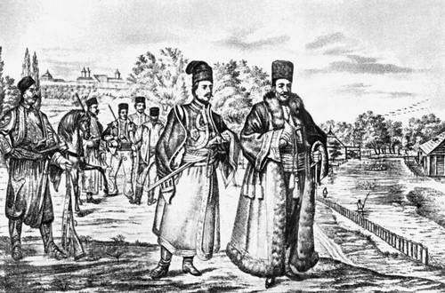 валашские торговцы