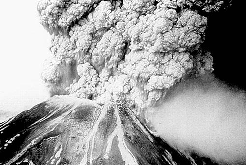 Извержение вулкана Маунт Пеле