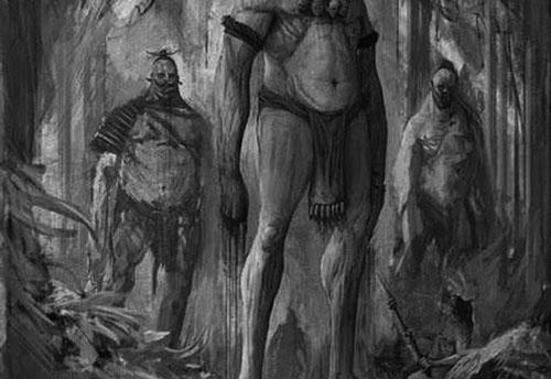 Люди-великаны Аллигеви