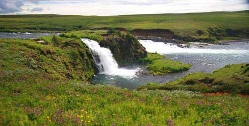 Водопад Арбайярфосс