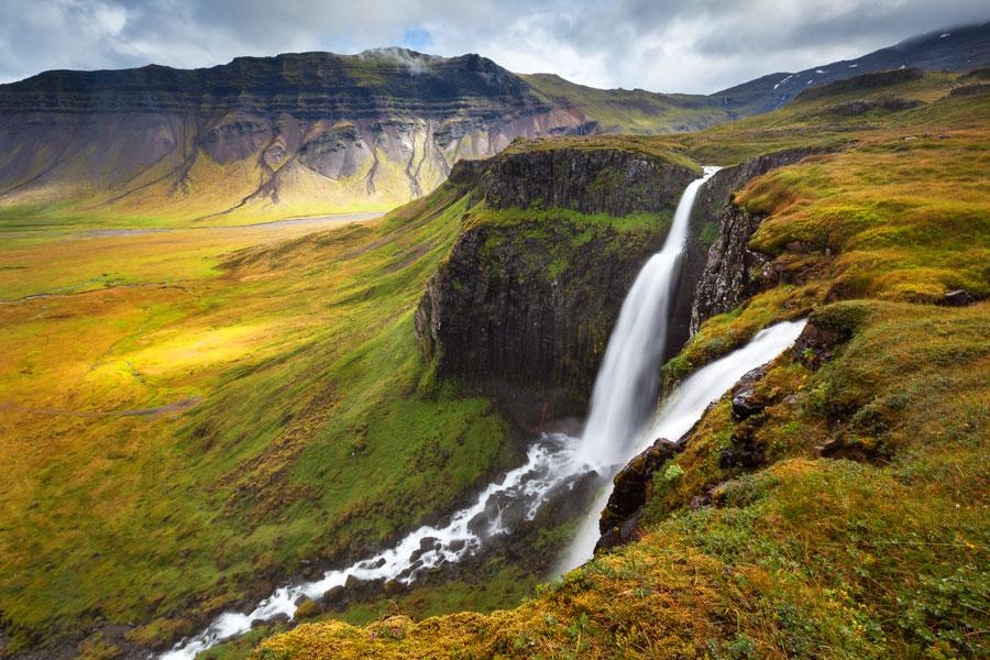 Водопад Грюндарфосс