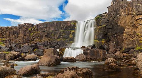Водопад Эхсараурфосс